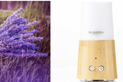 The Oil Garden Bamboo Ultrasonic Vaporiser